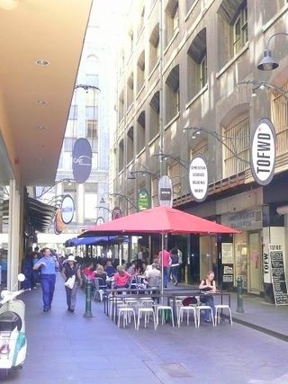 Degraves street melbourne